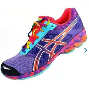 ASICS Gel-Frantic 7 Women's Shoes Purple/Teal